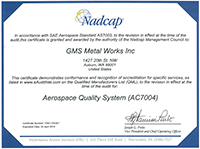 AC7004 Certification